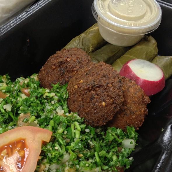 Vegetarian platter @ Shawarma Mediterranean Grill