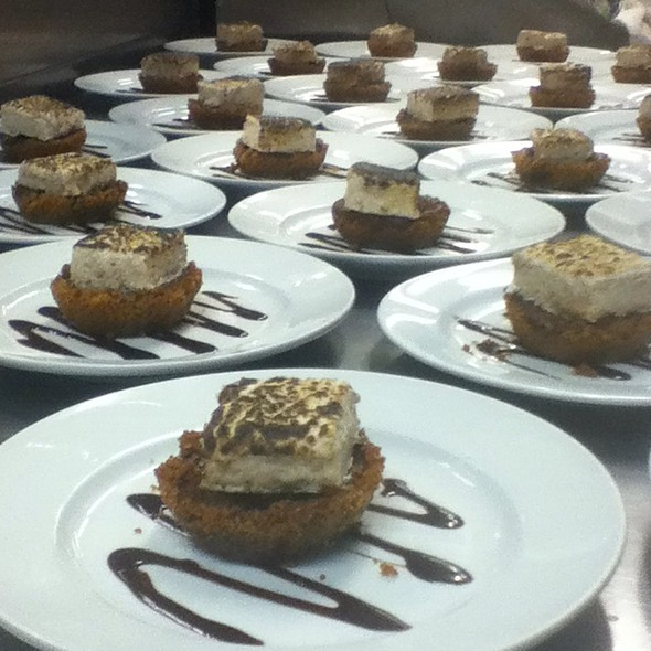Desserts @ Rupert's at the Hotel McCall