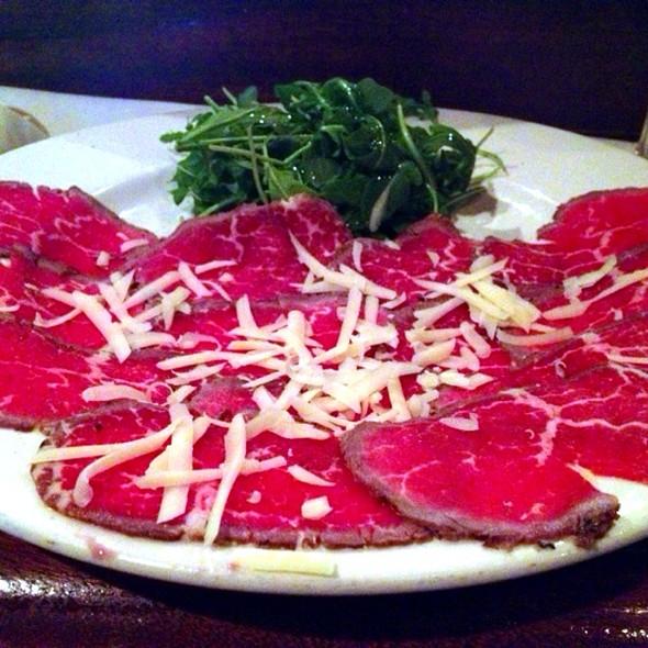 Beef Carpaccio - Trattoria San Pietro, Norwell, MA