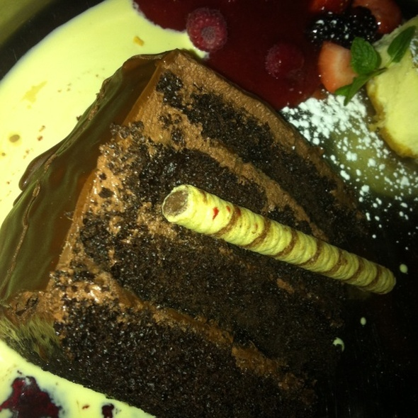 Chocolate Hazelnut Cake @ The Capital Grille