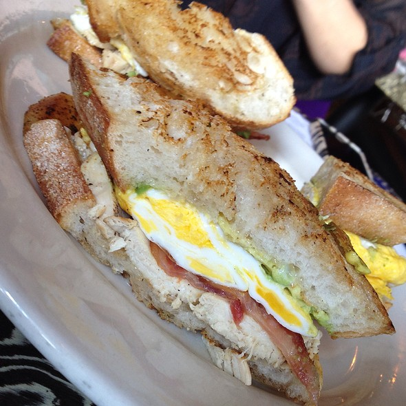 Natural Chicken & Egg Sandwich @ Ciccio's California Cuisine