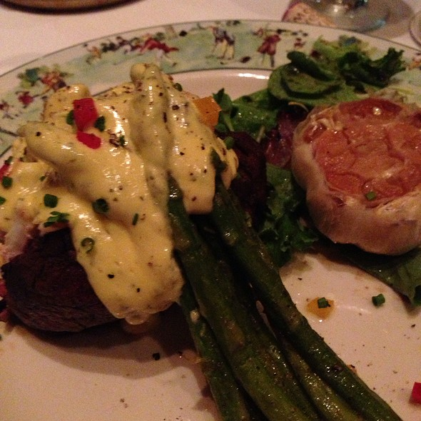 Crab Stuffed Filet Mignon @ Ulysses' Prime Steakhouse
