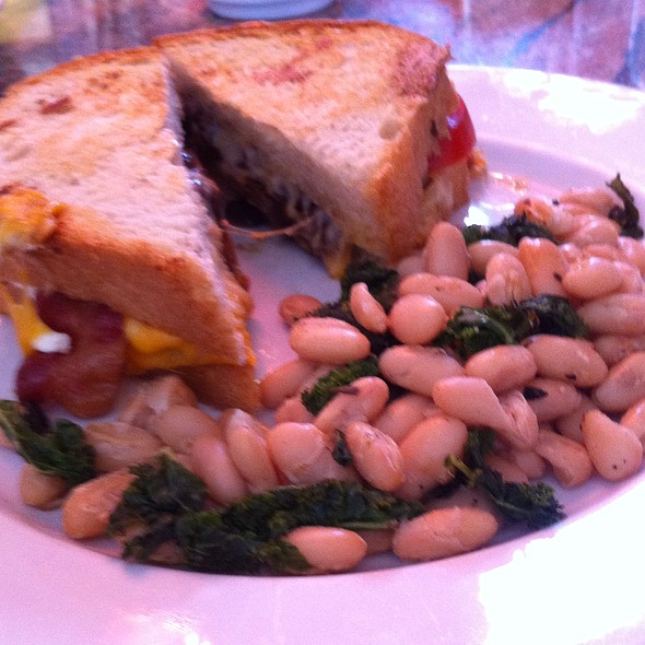Grilled Cheese Sandwich @ Coca Cafe