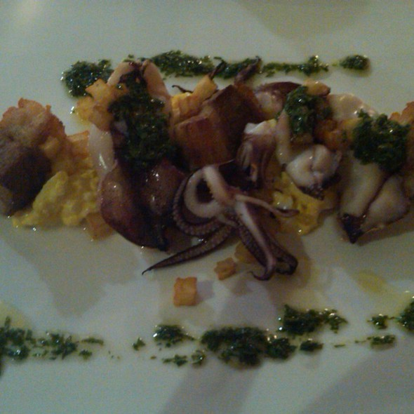 Squid, Pork Belly And Egg Salad @ Commonwealth