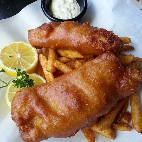 Fish & Chips @ Firkin & Phoenix