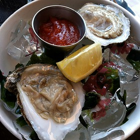 Oysters on the Half Shell - Westport Cafe & Bar, Kansas City, MO