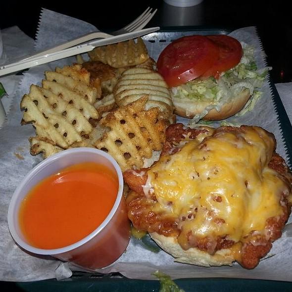 Buffalo Chicken Tenders Sandwich @ Dune Dog Cafe