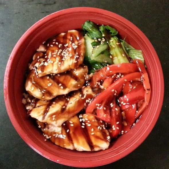 Teriyaki Salmon Bowl Recipesbnb