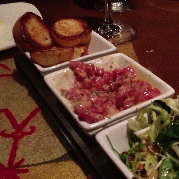 Prime Steak Tartare @ Voodoo Steak & Lounge