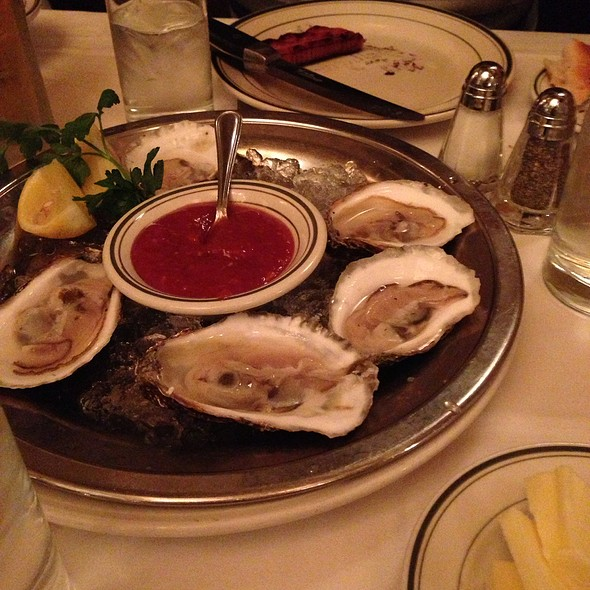 Oysters - Wolfgang's Steak House - 54th Street, New York, NY
