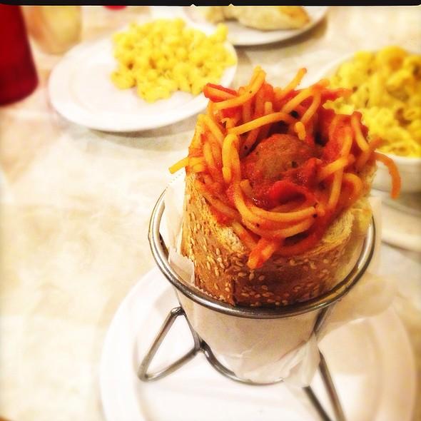 Spaghetti And Meatball Torpasta @ Devine Pastabilities