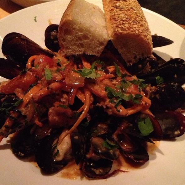 Oven Roasted Penn Cove Mussels - Ten Mercer, Seattle, WA