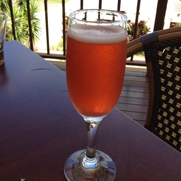 Strawberry Champagne @ Key Restaurant Maleny