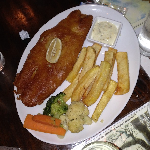Fish and Chips @ Union Jack Tavern
