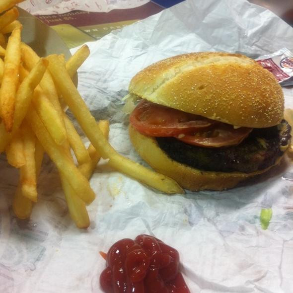 Stuffed Steakhouse Burger @ Burger King