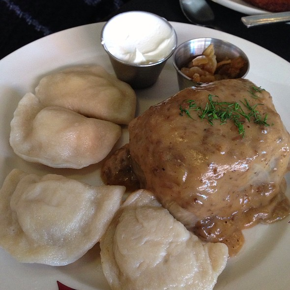 Vegetarian Plate @ Veselka
