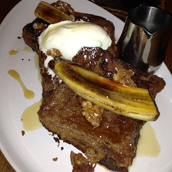 brioche french toast - Marc Forgione, New York, NY