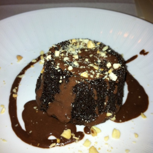 Chocolate Almond Cake @ Harvest Restaurant