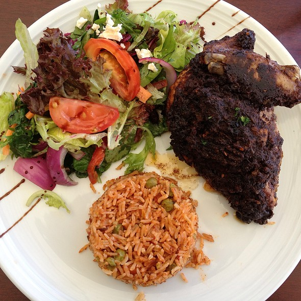 Jamaican Jerk Chicken @ Key Restaurant Maleny