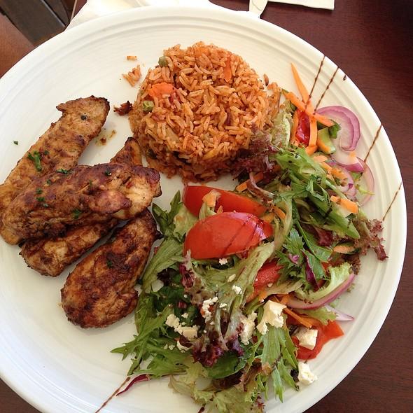 Mozambique Chicken @ Key Restaurant Maleny