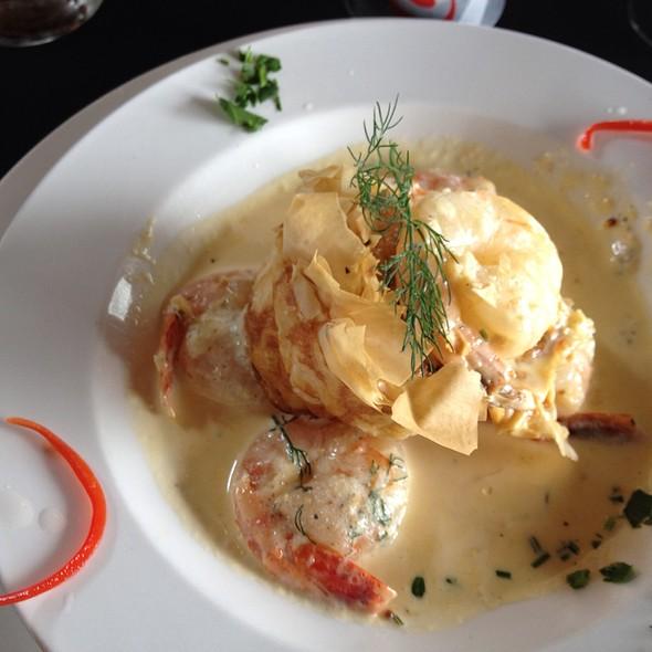 Moreton Bay Bug & Shallot Tart @ Birches Restaurant @ Mount Mee