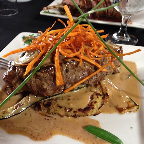 porterhouse steak @ Birches Restaurant @ Mount Mee