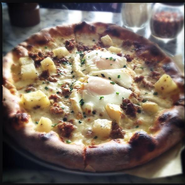 Potato Pizza - Ecco, Costa Mesa, CA