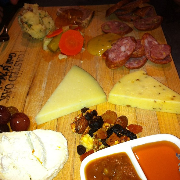 Artisanal Cheese And Meat Board - Toasted Oak Grill & Market, Novi, MI