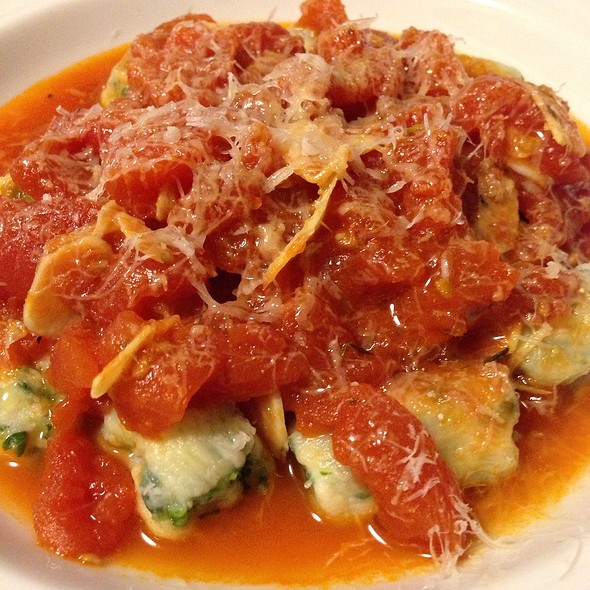 Spinach Ricotta Gnocchi @ Cafe Martin