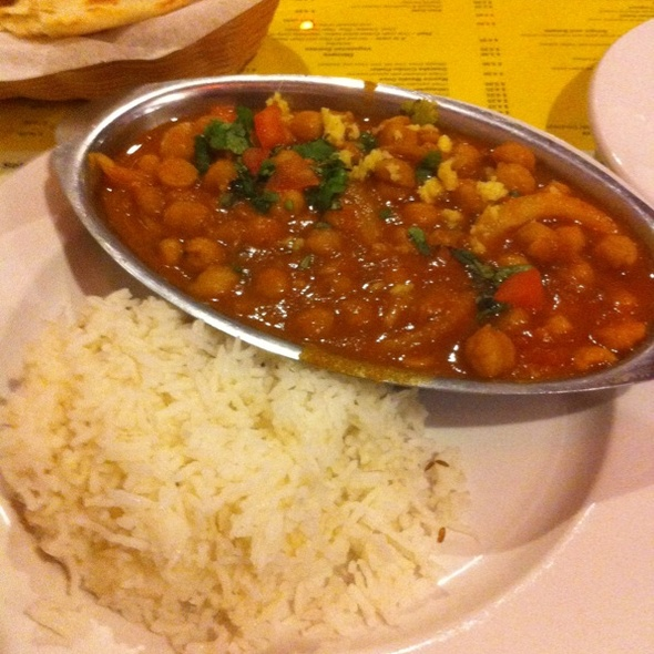 Chana Masala @ Dwaraka Indian Cuisine