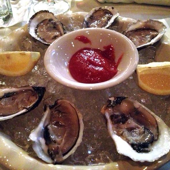 Wellfleet Oysters - Trattoria San Pietro, Norwell, MA