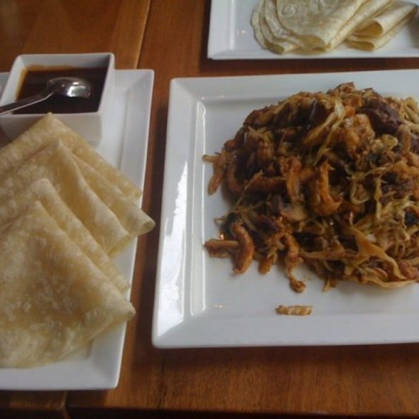 Moo Shu Beef, Chiken & Shrimp - Ping by Charlie Chiang's, Arlington, VA