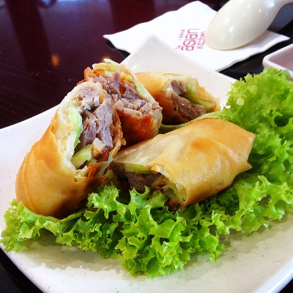 Roasted Duck Spring Rolls @ Asian Kitchen