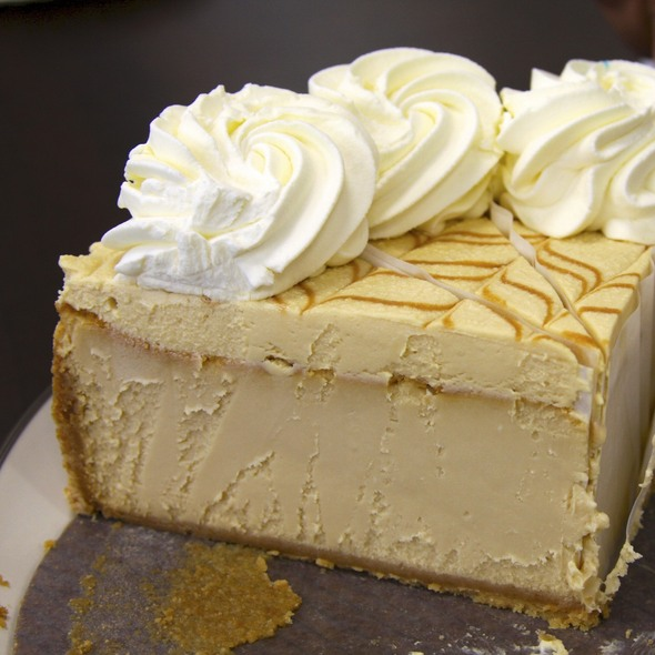 Dulce de Leche Caramel Cheesecake at Cheesecake Factory The