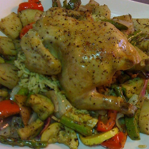 Cornish Game Hen With Roasted Vegetable