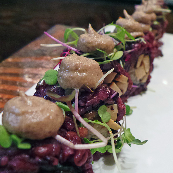 Mighty Mushroom Roll @ Beyond Sushi