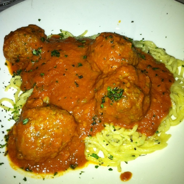 Spaghetti and Meatballs - Moody's Bistro Bar & Beats, Truckee, CA