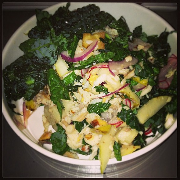 Tuscan Kale and Smoked Trout Salad