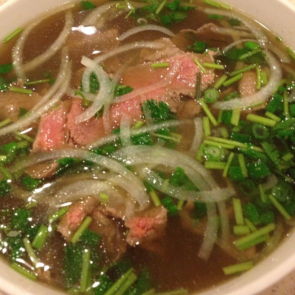 Beef Pho @ tank noodle
