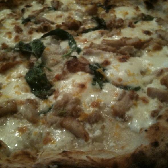 豚バラ肉のチーズピザ レモン風味 @ PIZZA DA BABBO