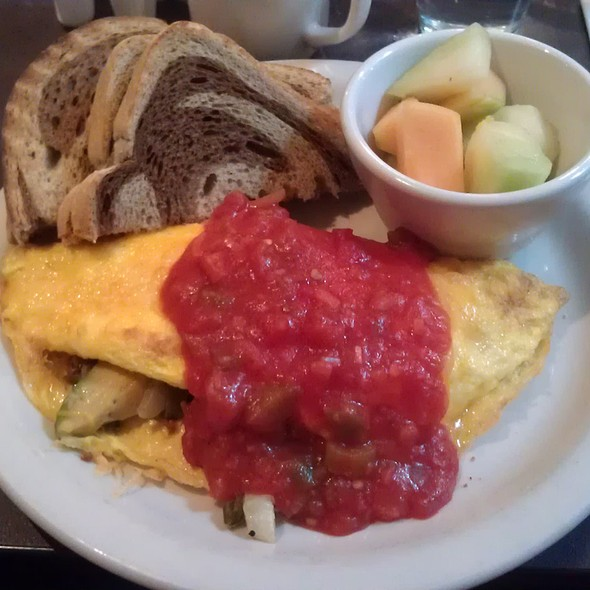 Spanish Omelet @ Hicks & McCarthy Restaurant
