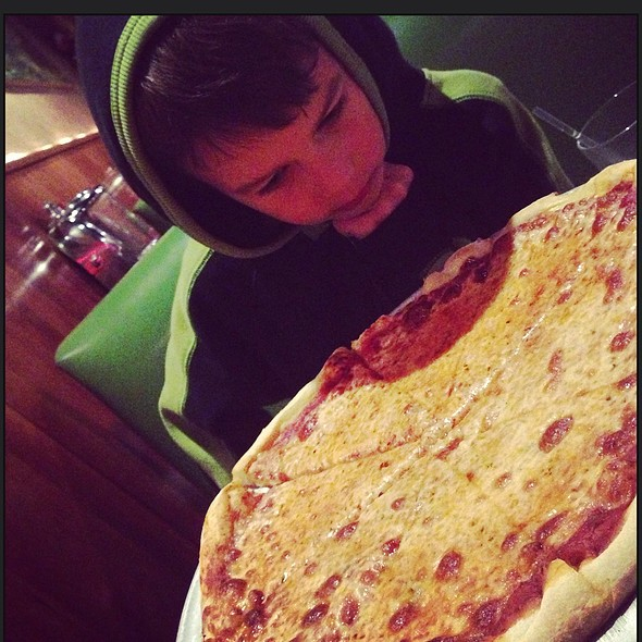cheese pizza @ Gaspare's Pizza House & Italian Restaurant