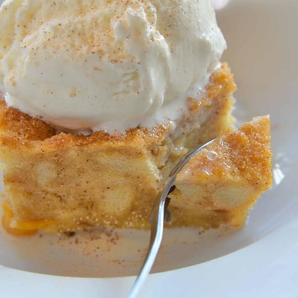 Peach Bread Pudding @ Georgia House Restaurant
