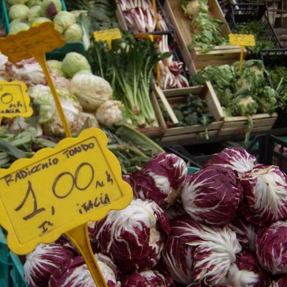Vegetables @ mercato del sabato