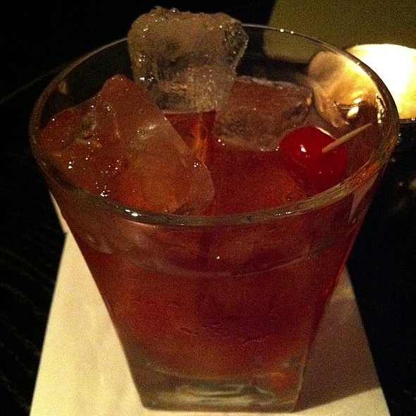 Dark rum old fashioned @ Harrison's