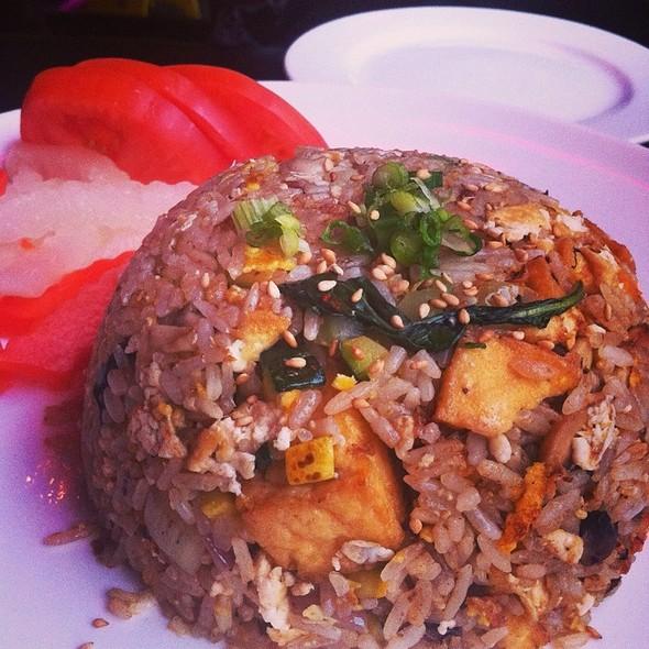 Green Curry Fried Rice - Asuka Sushi, New York, NY