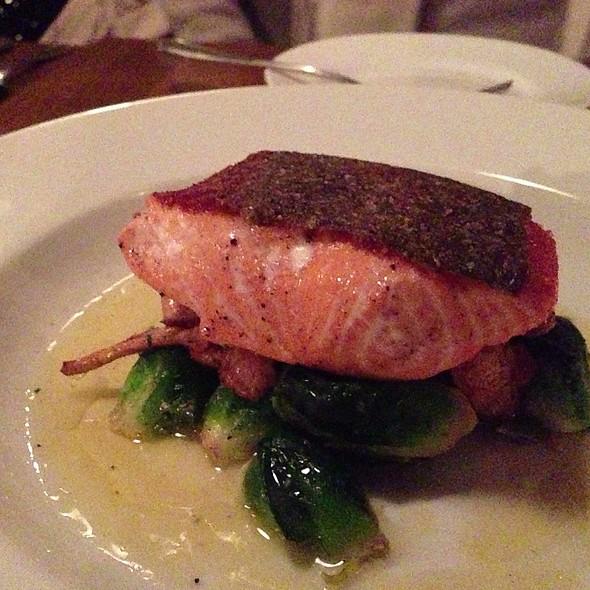 Grilled Wild Alaskan Salmon - A la bonne franquette, Seattle, WA