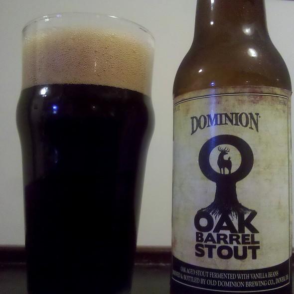 Old Dominion Oak Barrell Stout @ Old Dominion Brewing Company