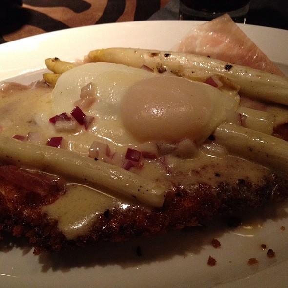 Chicken Schnitzel A La Holstein - Revolution Grille, Toledo, OH