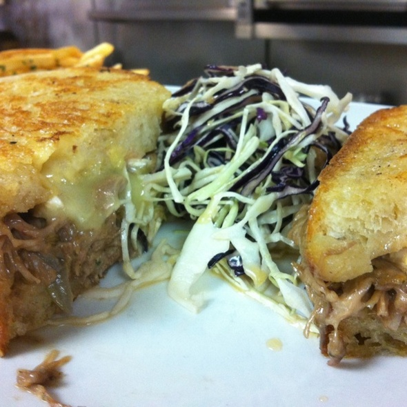 Duck Confit & Brie Grilled Cheese @ Bistro 55